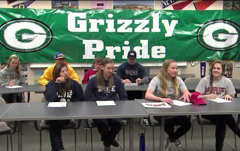 Live Broadcast Letter of Intent Signing for GBHS Athletes