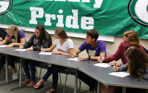 10 athletes sign letters of intent for November