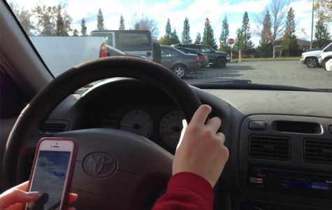 Distracted driving endangers teens