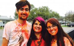 The festival of colors lives up to its name
