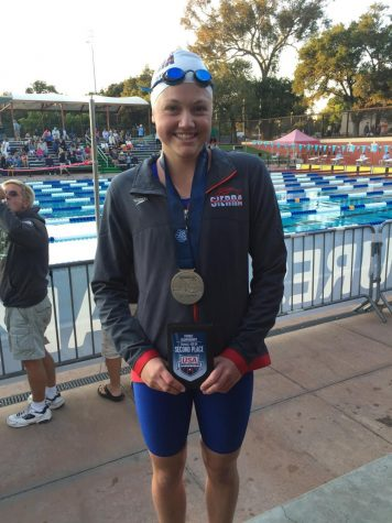 Swimmer's time makes Olympic cut