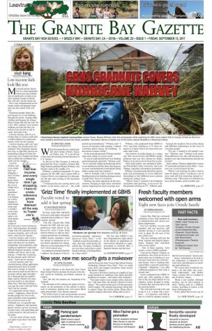 Granite Bay Gazette, Issue 2, October 2017