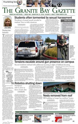 Granite Bay Gazette, Volume 21, Issue 1, September 2017