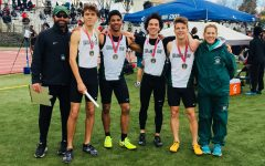 Boys' relays prove dominance