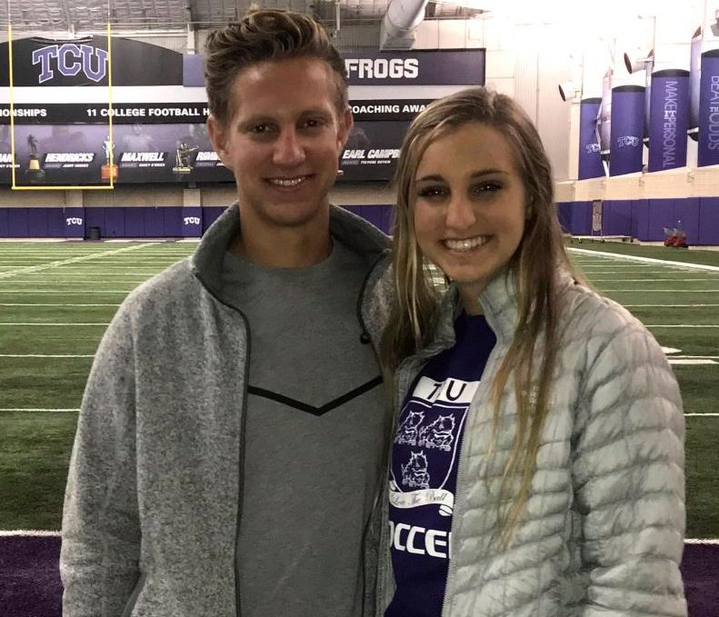 Brennan and Summer Holt will eventually be rejoining one another at Texas Christian University in Fort Worth. Brennan will be a college freshman in the fall; Summer is a rising junior.