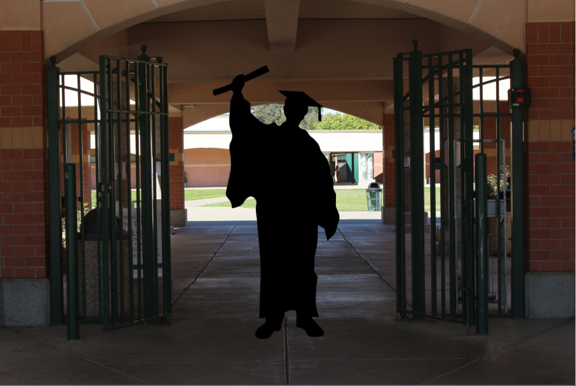 Some seniors look forward to rasing their diploma, throwing their caps and walking out the gates of high school early to get a taste of college and deal with real-world scenarios.