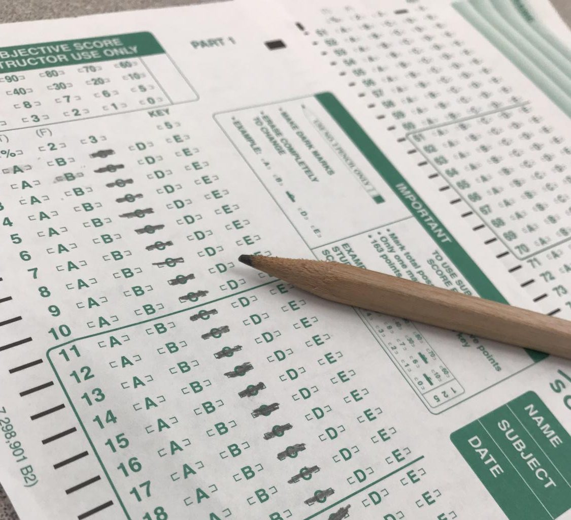 Some U.S. colleges are trying to de-emphasize standardized test scores in the admissions process.