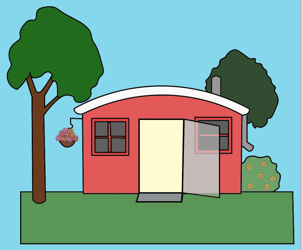 GBHS teacher Lynn Guerne decided to build a tiny house in her own backyard.