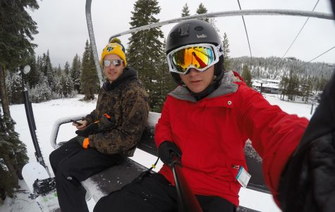 Students look forward to the slopes over break