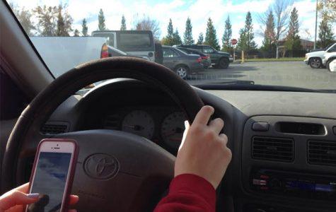 Distracted driving endangers teens