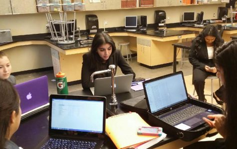 Speech and Debate team search for success
