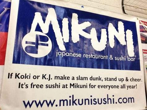 Lucky fan wins free sushi for a year