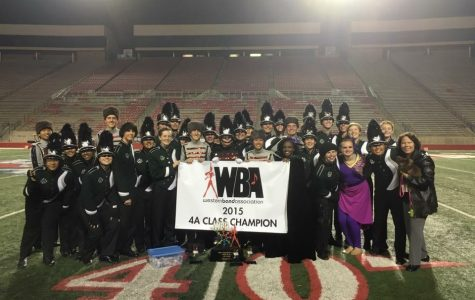 Emerald Brigade wins first and places fifth overall at WBA Championships