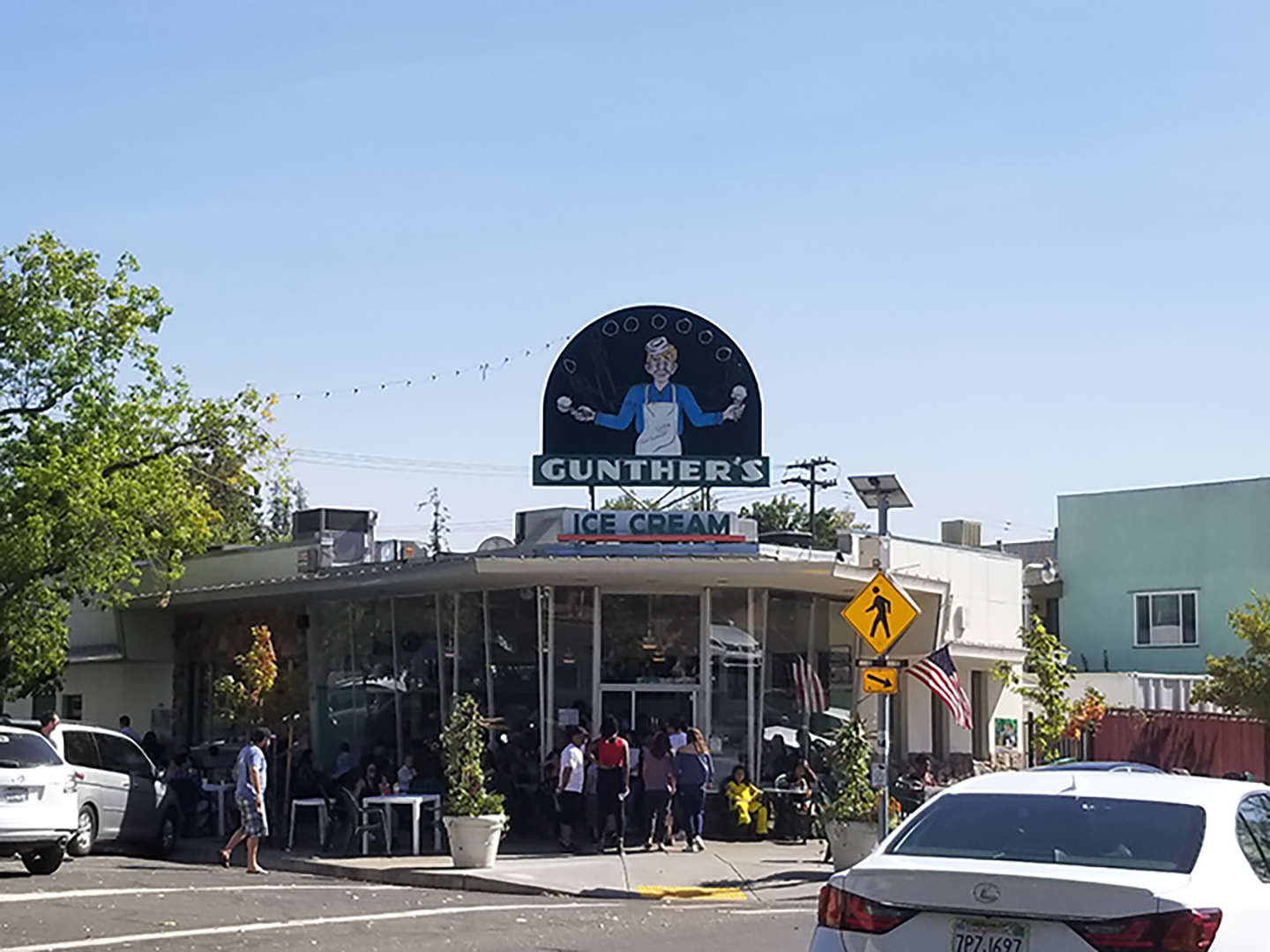 Gunther's Ice Cream Shop has been a Sacramento institution since 1940.