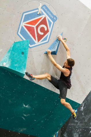 GBHS rock climber thrives on big stage