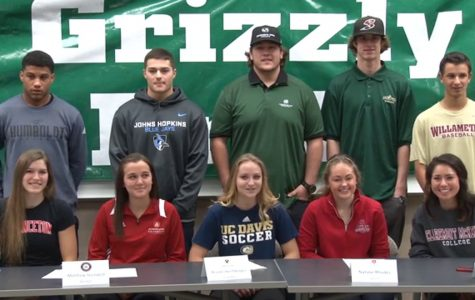 Ten athletes sign to play college sports