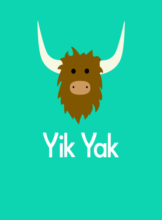 Yik+Yak+becomes+a+trend+among+students