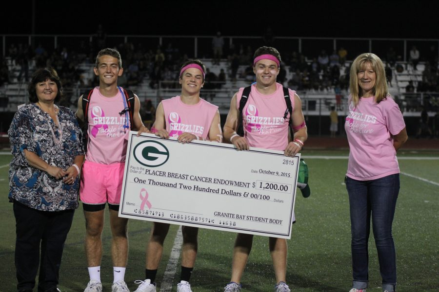 Raising Awareness: Student body generates big donations in October to promote Breast Cancer Awareness