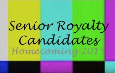 Senior Homecoming Candidates 2015 Voting Video