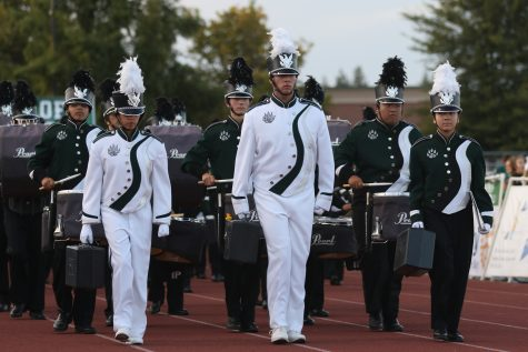 A chance to meet Chance: Drummer, Chance Vano performs during Homecoming