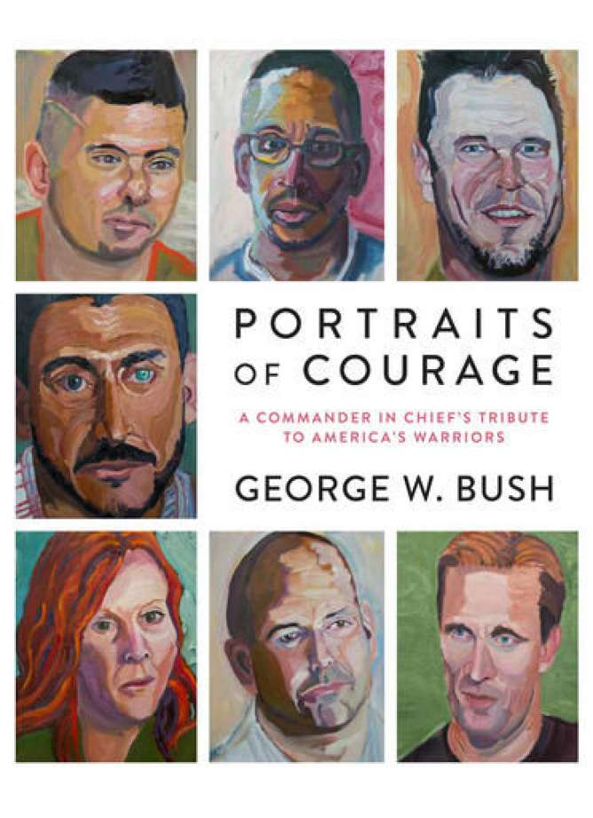 GBHS+alum+featured+in+George+W.+Bush%27s+new+book%2C+%22Portraits+of+Courage%22