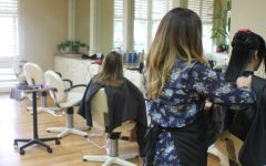With barber shops and hair salons closed, hair dyeing and cutting seems to be a popular activity for those stuck at home.