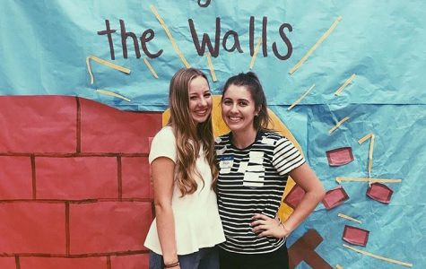 Sisters Sydney and Alyssa Sewell attended Breaking Down the Walls, both as leaders.