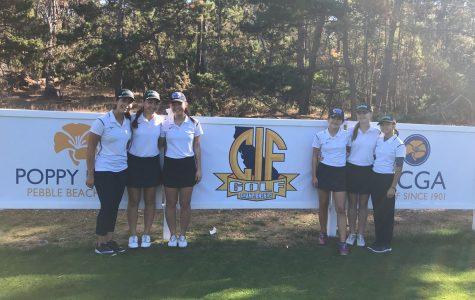 Girls' golf makes history