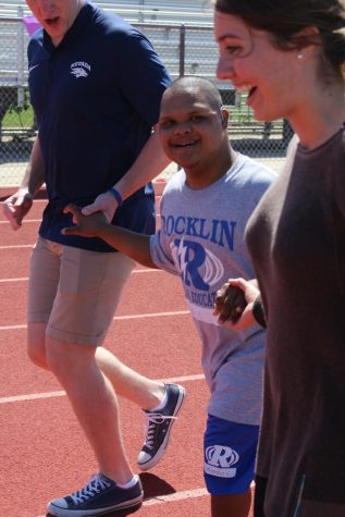Unified Sports track meet