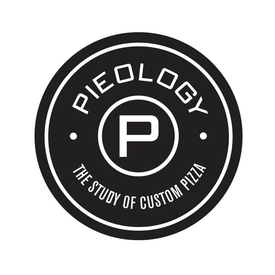 The Pieology Logo shares an explanation of the store's studious name.
