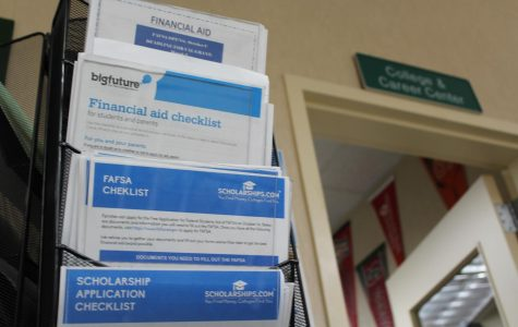 Students weigh their college financial aid options