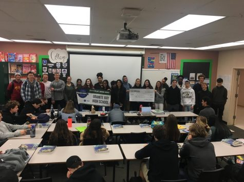 GBHS students participate in national walkout