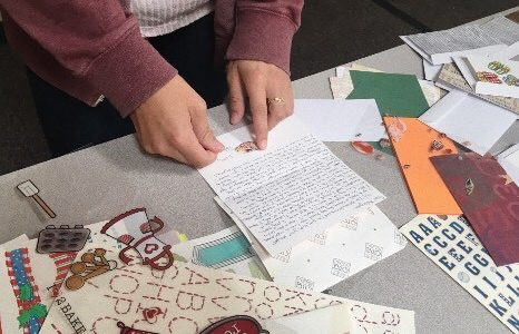 Penpal club connects with elementary students