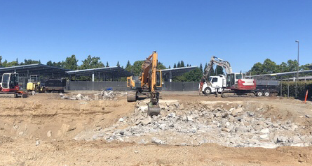 Planning for the pool construction has been in the works since last summer and construction is set to be finished by the end of this school year. However, at the current construction pace, completion of the pool could arrive sooner.