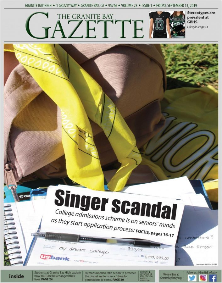 Granite Bay Gazette, September 2019, Vol. 23, Issue 1