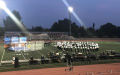 Granite Bay Emerald Brigade competes at Oakmont High School