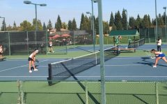 Live Coverage: JV girls tennis match against Rocklin High School