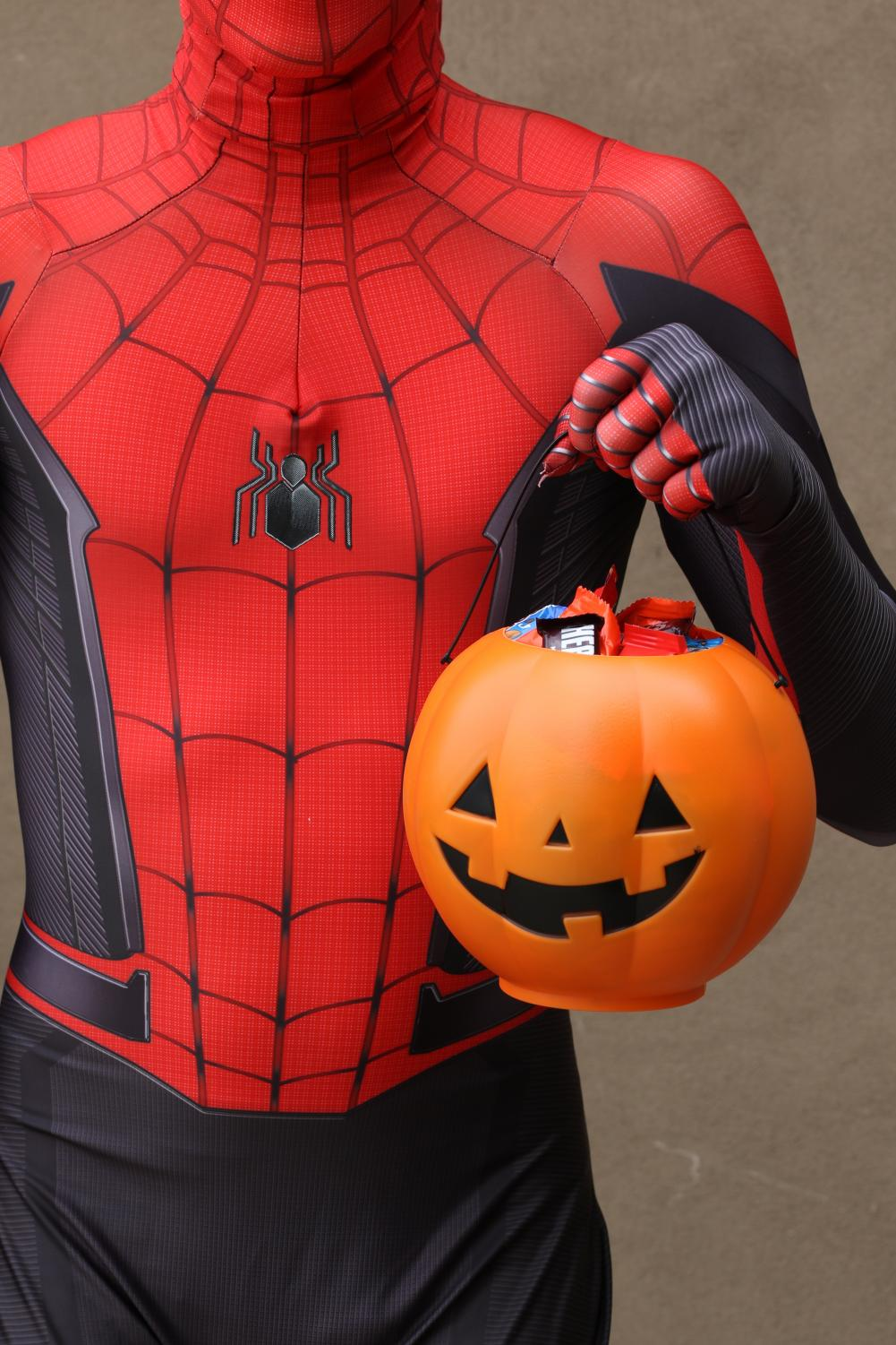 Being in high school doesn't stop many GBHS students from going out and participating in neighborhood trick-or-treating or dressing up.