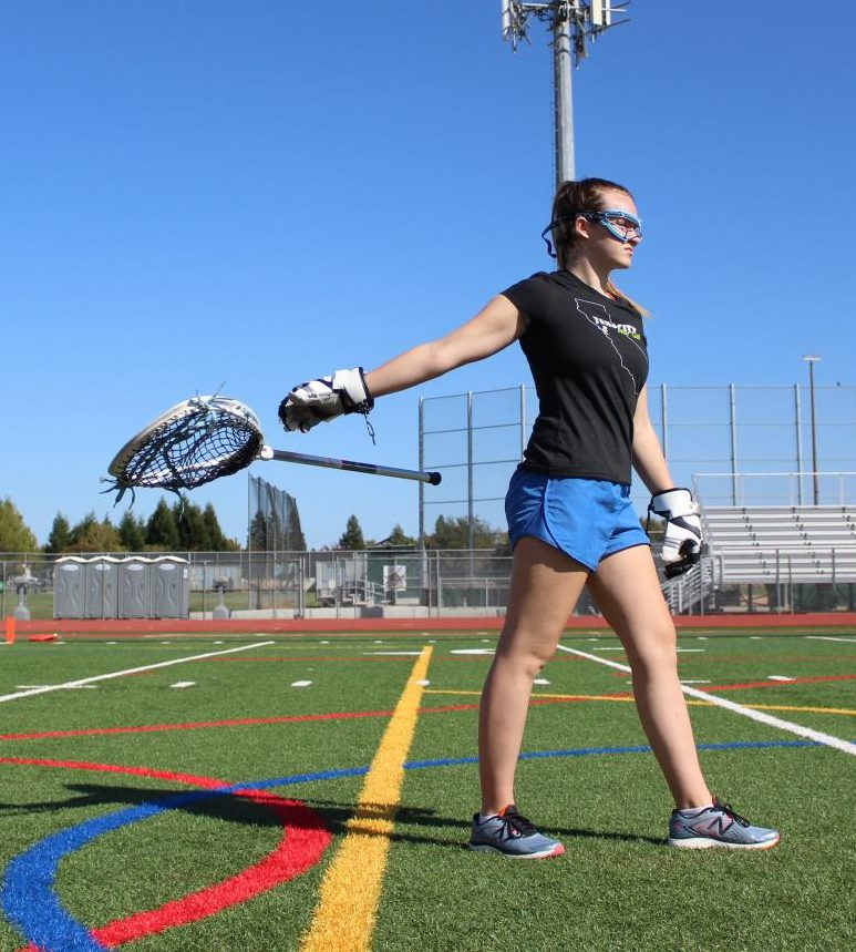 Lacrosse, a popular sport at Granite Bay High School, is demanding with its games and busy schedule as all sports are.