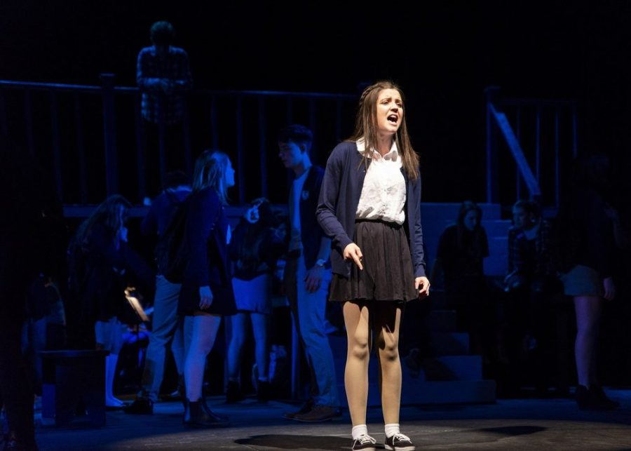 GBHS Alumni Natalie Collins plays Lily in the original production of Ranked.