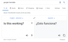 Does Google translate?