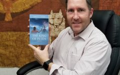 Spanish teacher Grant Adams self-published a historical fiction novel, just recently republishing a further edited version of it.
