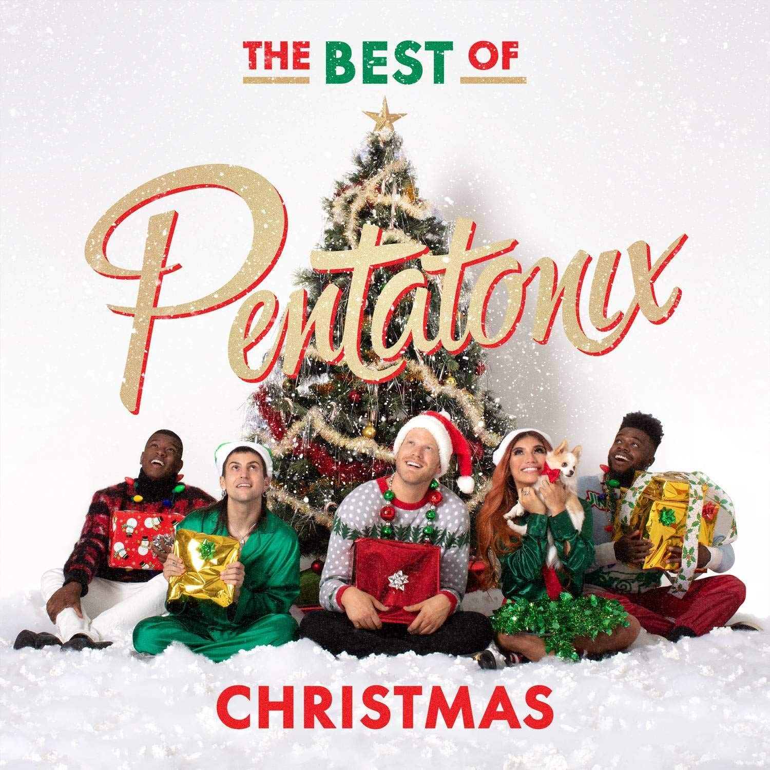 Pentatonix is an acapella group with five members, with an array of music that can be found on Youtube, iTunes, and many more music distributing facilities.
