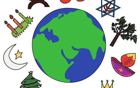 Students of different faiths share their holiday traditions.