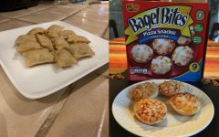 Pizza rolls and Bagel Bits are frozen snacks that are readily available to transform into instant pizza nibbles.