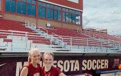 Junior Anysley Conner and fellow commit Lauren Donovan visit their soon-to-be-home, University of Minnesota.