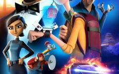 Spies in Disguise is a animated film with a distinct style for different characters.