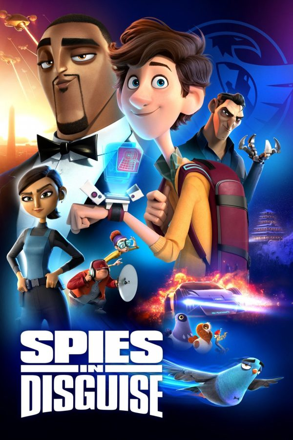 Spies+in+Disguise+is+a+animated+film+with+a+distinct+style+for+different+characters.