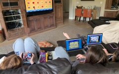 Like many Granite Bay High students,   Nicole Criscione and friends Kara Kleinbach and Liv Thompson have had to get creative about how they're spending time. On their list? Video games.