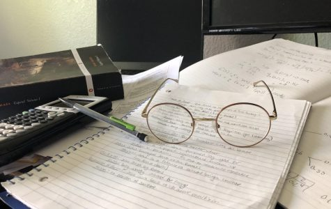 Students struggle to find motivation in to tend to the heap of classwork that faces them.